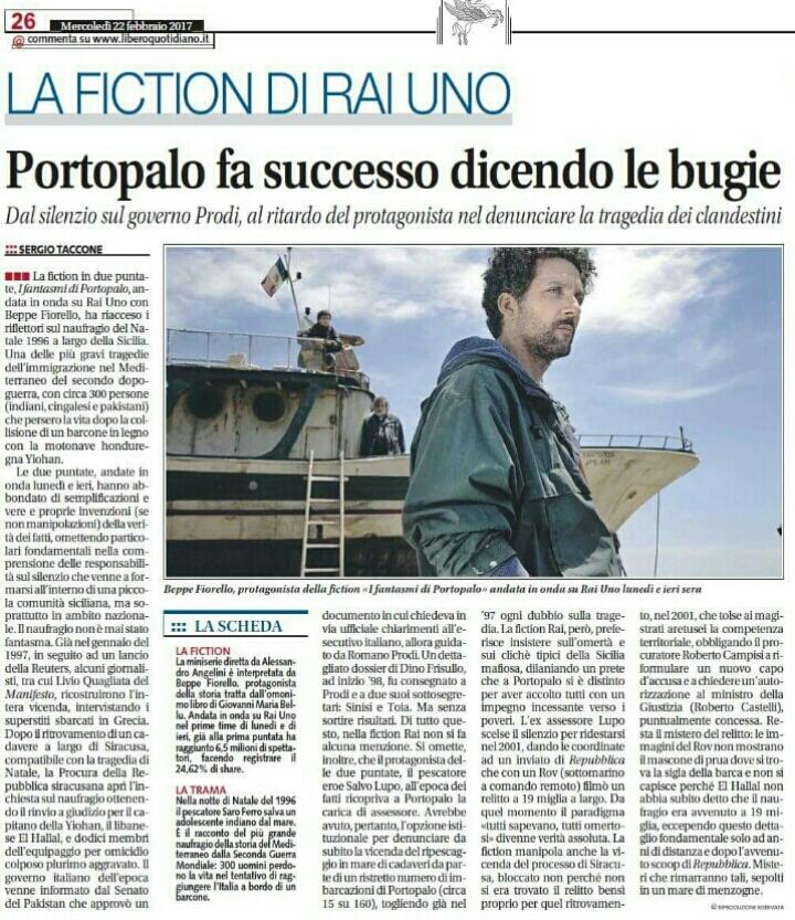 articolo sertac libero, PORTOPALO