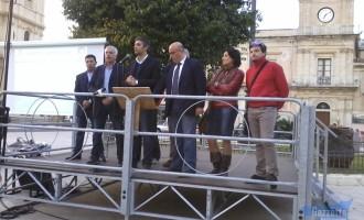 """Avola. Il sindaco al comizio """"I miei predecessori hanno rubato"""""""