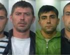 Sgominata banda di ladri, manette ai polsi per quattro rumeni