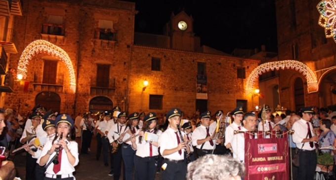 """Noto. Gemellaggio tra la Banda dell'Istituzione musicale Città di Noto e la """"Perrini"""" di Castelbuono"""