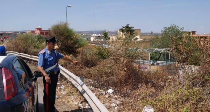 Canicattini. Tenta di incendiare un terreno vicino alle abitazioni, arrestato presunto piromane