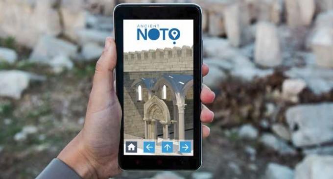 Noto. Con il progetto Efian l'antica città rivive virtualmente