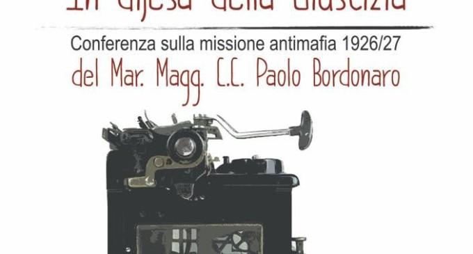 Solarino, conferenza antimafia incentrata sul maresciallo Paolo Bordonaro