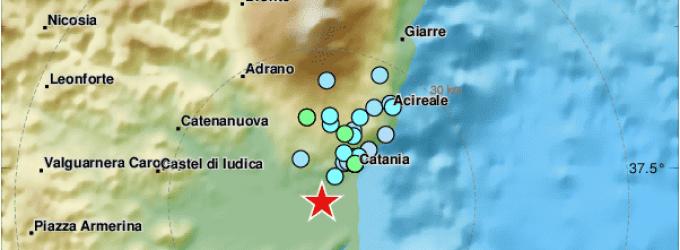 Terremoto, intensa scossa sismica in Sicilia nella notte