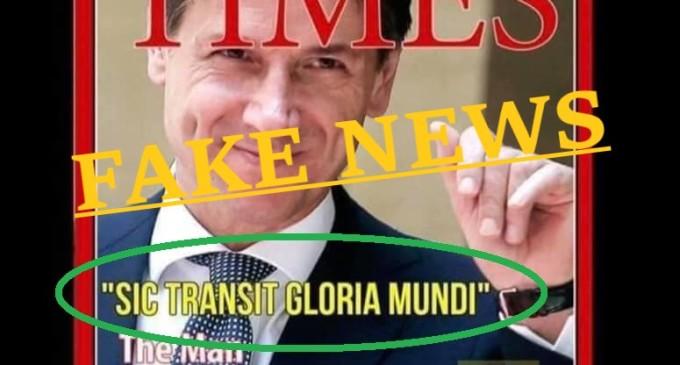 La fake del Premier Conte sul TIME: chi l'ha condivisa è 3 volte ignorante!
