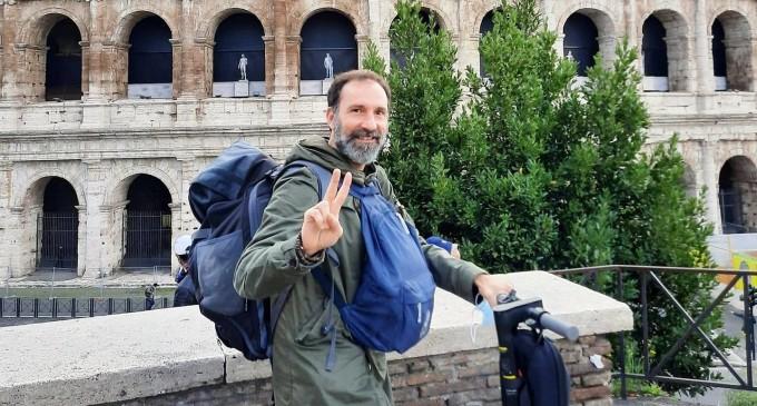 Il barattatore di libri in viaggio attraverso i Monasteri d'Italia